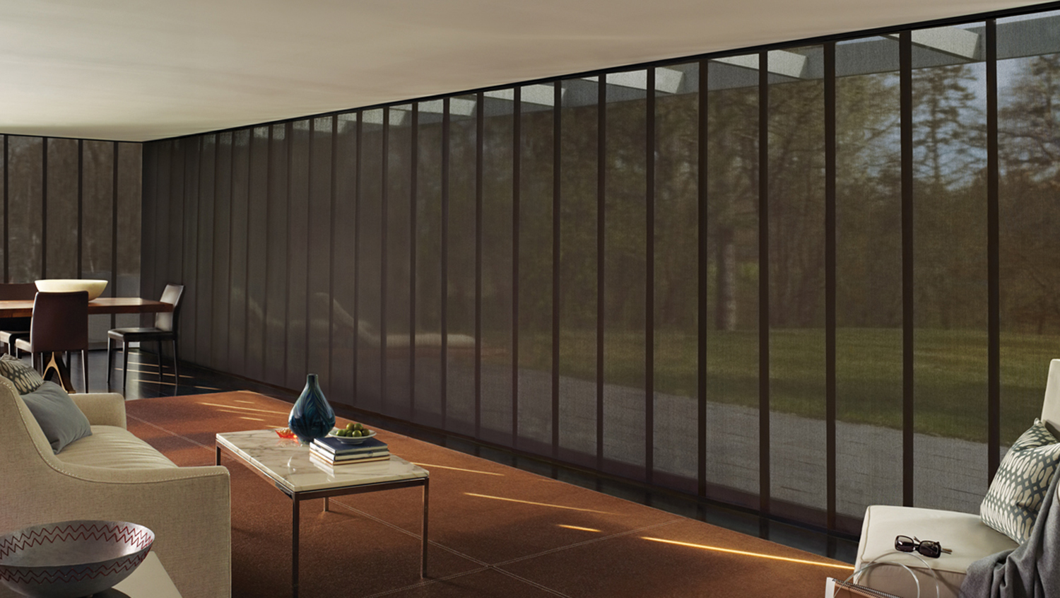 Contemporary Modern Vertical Blinds On Ideas